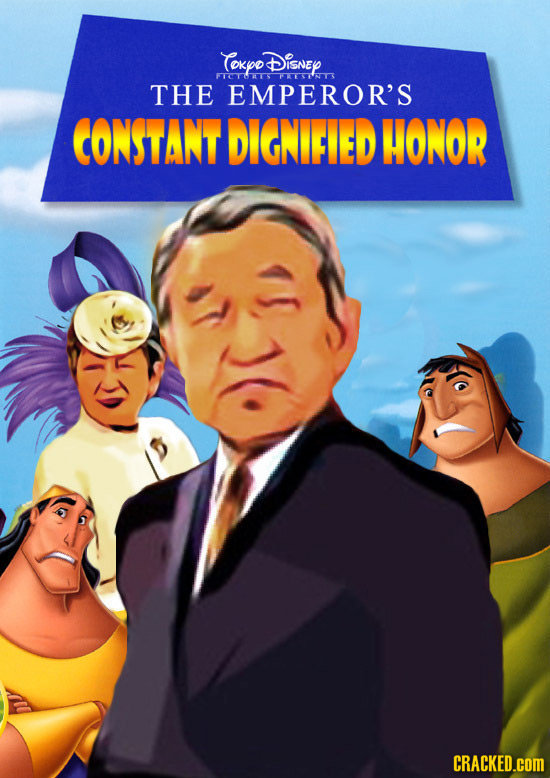 CokyoDisney FTOTOTS PUETTNTS THE EMPEROR'S CONSTANT DIGNIFIED HONOR CRACKED.cOM