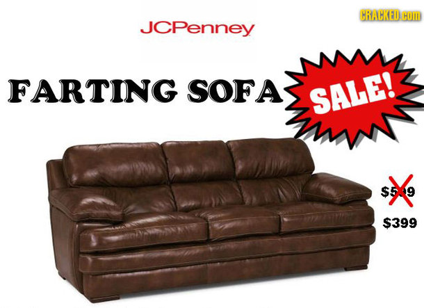 HRACKEDH JCPenney FARTING SOFA SALE! $5.9 $399