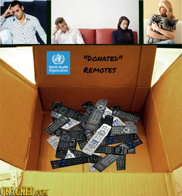 UDONATED Wo Health REMOTES Organization CRACKEDCONT
