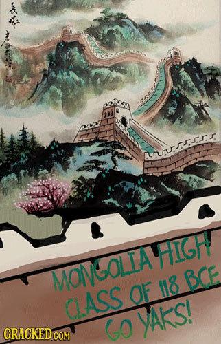 nrsr HIGH MONGOLIA BCE OF 118 CASS GO YAKS!