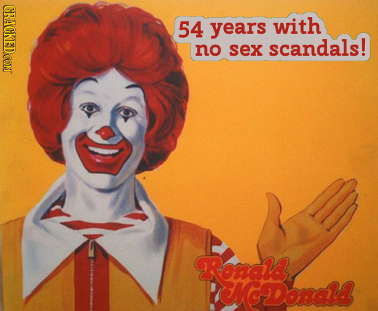 CRACKED.CON 54 years with scandals! no sex Rancka CNGDonald