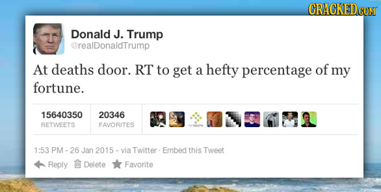 24 Celebrity Tweets That America Would Never Recover From