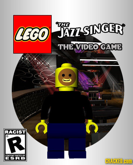 THE CEGO JAZZ SINGER THE VIDEO GAME S C RACIST C R CONTENT RATED BY ESRB CRACKED.cOM