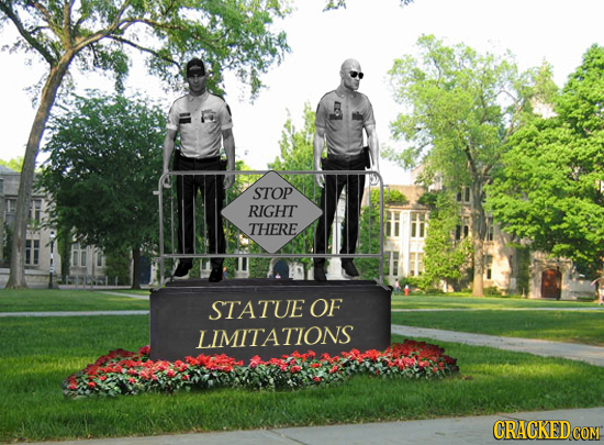 STOP RIGHT THERE 2L STATUE OF LIMITATIONS