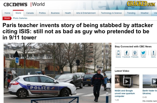 18 News Stories Altered To Actually Tell The Truth (12/20)