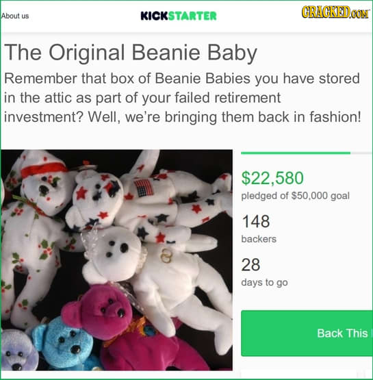 16 Crowdfund Campaigns That Would Make Our Inner Child Happy