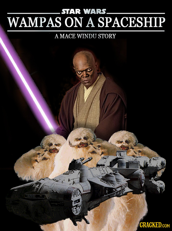 STAR WARS. WAMPAS ON A SPACESHIP A MACE WINDU STORY CRACKED.COM