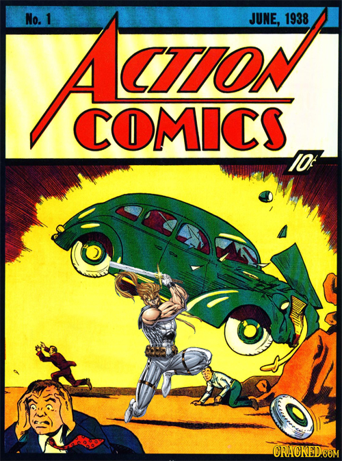 No. Aao 1 JUNE, 1938 CTON COMICS IOf
