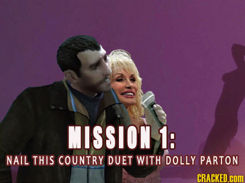 MISSION 1: NAIL THIS COUNTRY DUET WITH DOLLY PARTON CRACKED.COM
