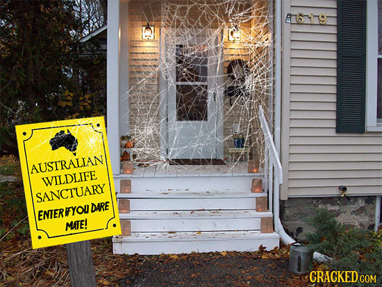 27 Halloween Decorations Based on Realistic Fears