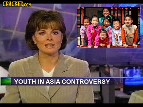 CRaCKED CON YOUTH IN ASIA CONTROVERSY
