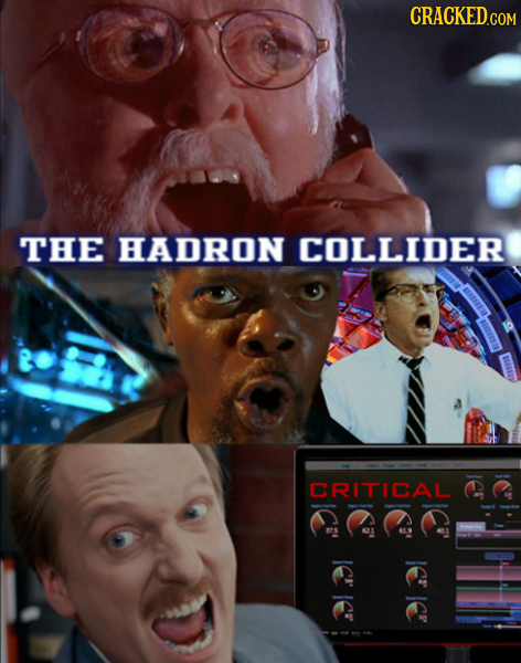 CRACKED.COM THE HADRON COLLIDER CRITICAL IER IE ICR IE