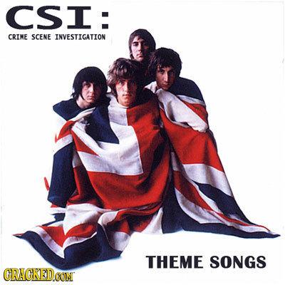CSI: CRIME SCENE INVESTIGATION THEME SONGS CRAGKEDCON