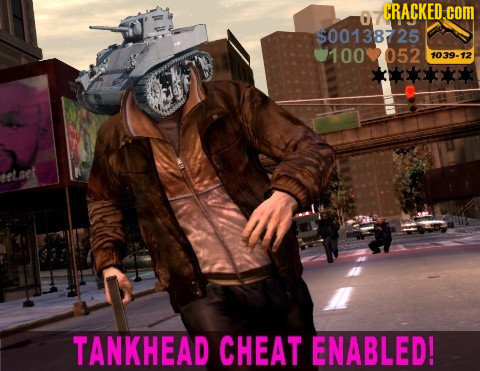 CRACKED.coM $00138725 100052 1039-12 eetaet TANKHEAD CHEAT ENABLED!