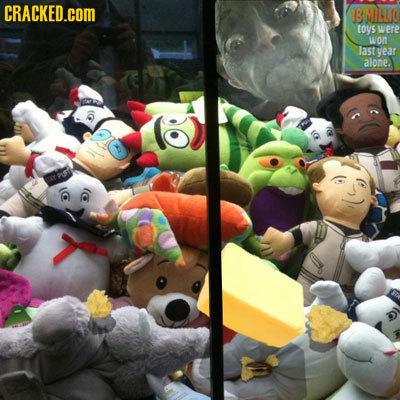 CRACKED.COM B MOLLO toys were won last vear alone.