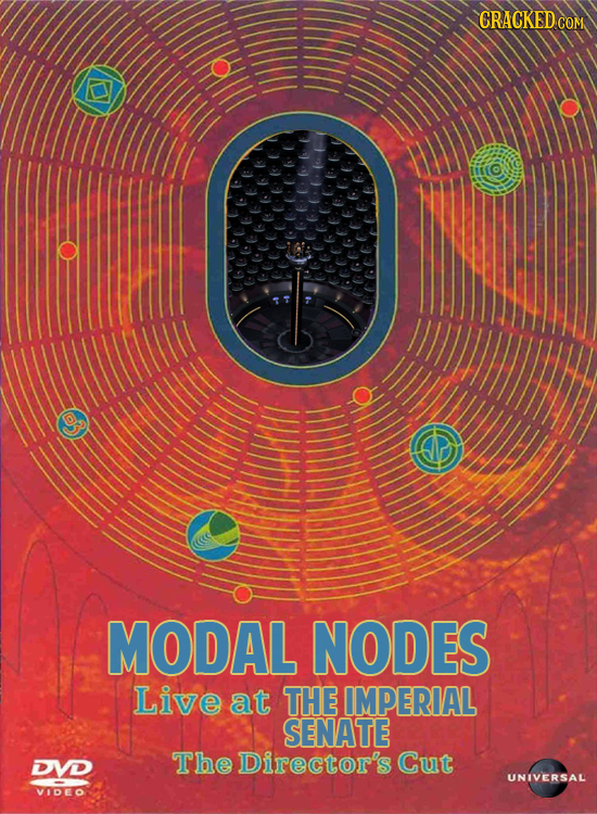 CRACKED COM MODAL NODES Live at THE IMPERIAL SENATE DVD The Director's Cut UNIVERSAL VIDEO