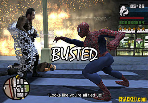 05:26 900080BBY BUSTED N Looks like you're all tied up! CRACKED.cOM