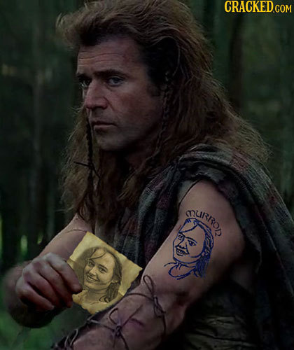 23 Embarassing Secret Tattoos of Famous Fictional Characters