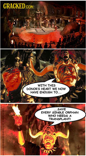 WITH THIS DONOR'S HEART WE NOW HAVE ENOUGH TO... SAVE EVERY SINGLE ORPHAN WHO NEEDS A TRANSPLANTI