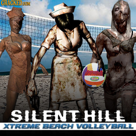 CRACKEDCON SILENTHILL XTREME BEFCH VOLLEYBFL