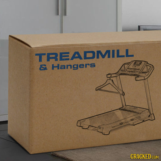TREADMILL C Hangers CRACKED COM
