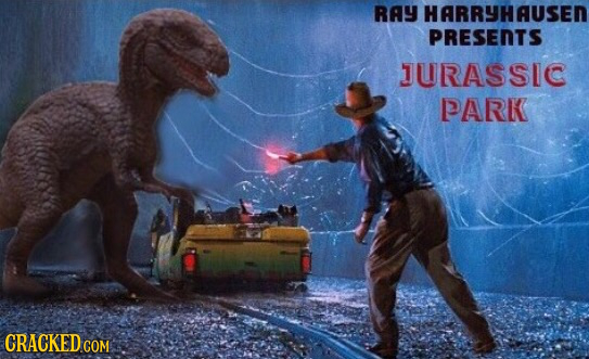 RAY HARRYHAUSER PRESENTS JURASSIC PARK CRACKED COM