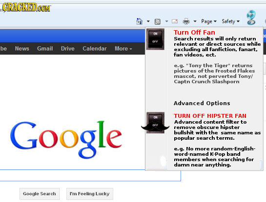 21 Web Browser Features We Desperately Need | Cracked com