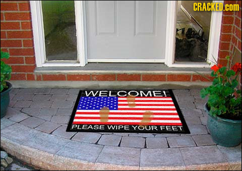 CRACKED.COM WELCOME! PLEASE WIPE YOUR FEET