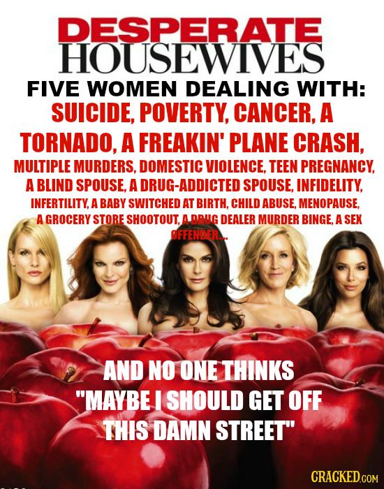 26 Honest Summaries Of Ridiculous TV Series Plotlines