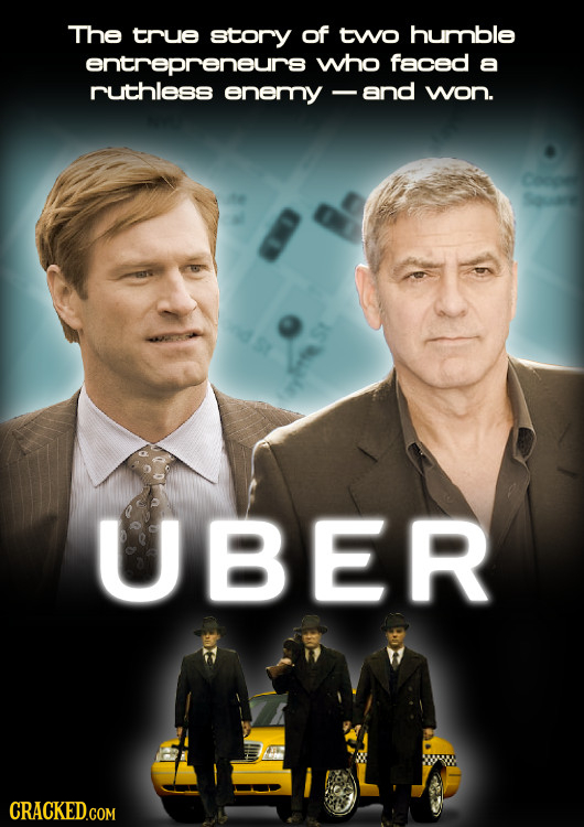 The true story of two humble entrepreneurs who faced a ruthless enemy - and won. UBER CRACKED.COM