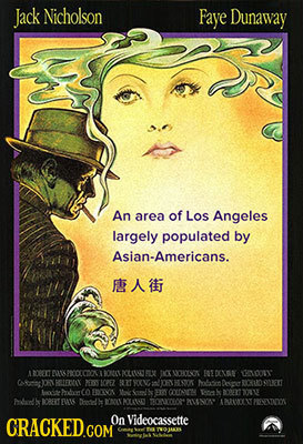 Jack Nicholson Faye Dunaway An area of Los Angeles largely populated by Asian-Americans. F AT Len OKOCTOOK k FODXS CHDOY CND DFYRETERAY PES 102 077 V
