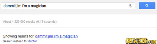 22 Google Searches of Famous Fictional Characters