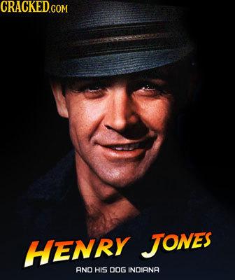 HENRY JJONEs ANO HIS DOG INDIANA