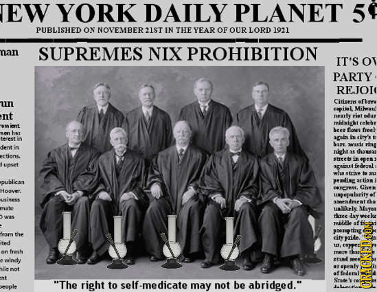 EW YORK DAILY PLANET 5 PUBLISHED ON NOVEMBER21ST IN THE YEAR OF OUR LORD 1021 nan SUPREMES NIX PROHIBITION IT'S O PARTY REJOI un Citizes ofbrev capito
