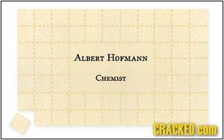 ALBERT HOFMANN CHEMIST CRACKED COM