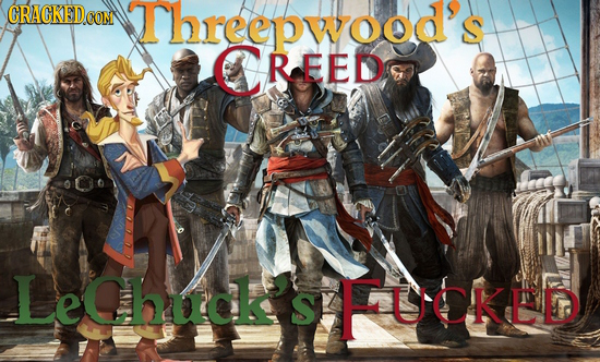 Threepwood CREED LeChucksFUCKED S