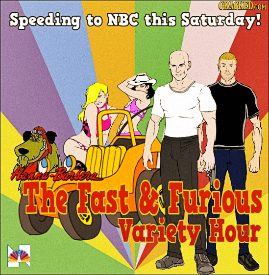 ORACKED C COM Speeding to NBC this Saturday! Hanif Barara The Fast & Furious Variety Hour