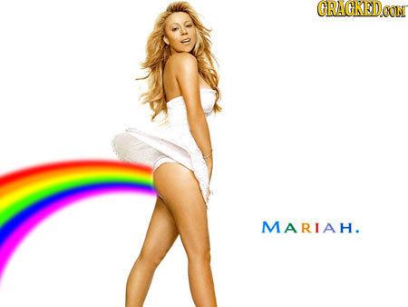 CRACKED MARIAH.