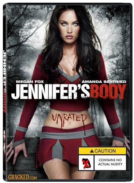MEGAN FOX AMANDA JENNIFER'SBODY SEYFRIED UNRATEP 1 CAUTION CONTAINS NO ACTUAL NUDITY