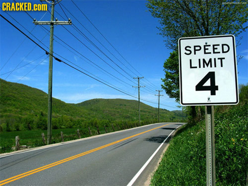 CRACKED.coM SPEED LIMIT 4