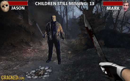 CHILDREN STILL MISSING: 13 JASON MARK