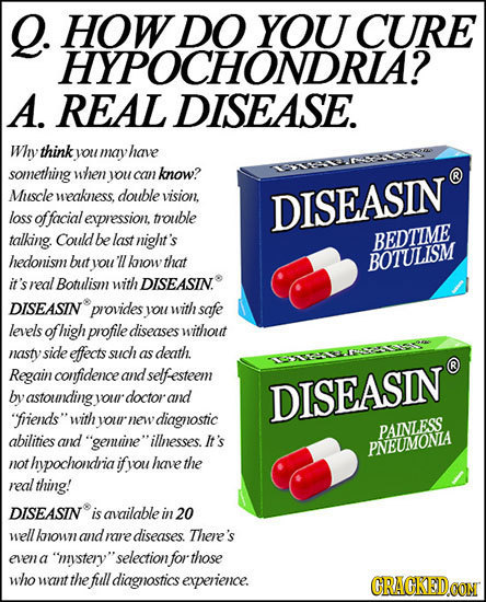 21 Ridiculous Pharmaceutical Ads We'll See Next