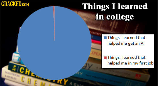 Everything You Need To Know About College (In Chart Form)