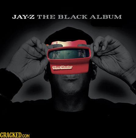 JAY-Z THE BLACK ALBUM Viewt Master