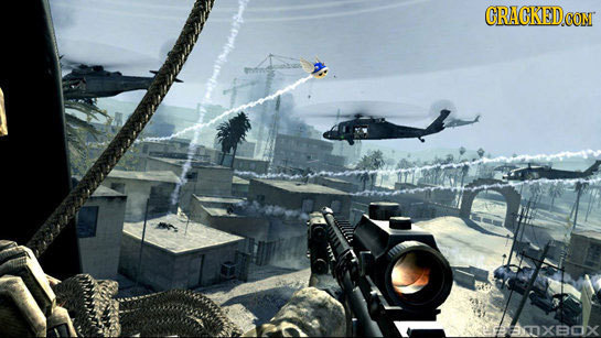 17 Rejected Ideas from the New 'Call of Duty' Game