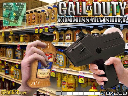 CALL DUTY OF COMMISSARY SHIFT IK 33N I ach Douov Ts 129 70/200