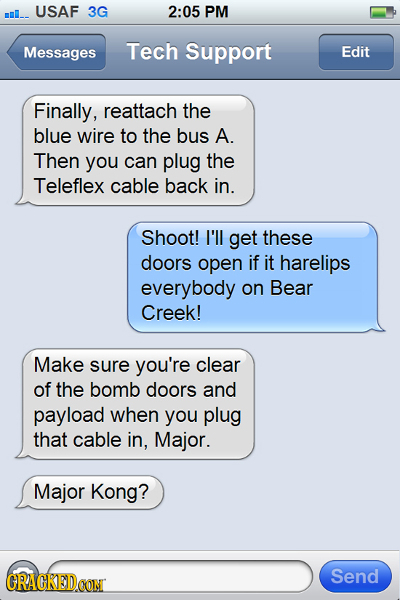 19 Final Texts By Famous Movie and TV Show Characters