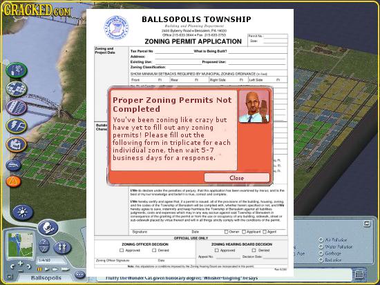 GRAGKEDCO COM BALLSOPOLIS TOWNSHIP 94 205.35.10 ZONING PERMIT APPLICATION taees Prntan Dutn 5HOM RADES MACRAL ZCRORNANEE Proper Zoning Permits Not Com