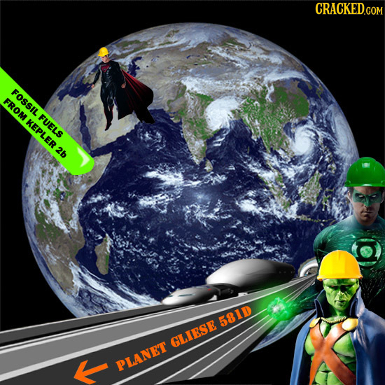 FOSSIL FUELS FROM KEPL ER 2b D 581D GLIESE K PLANET