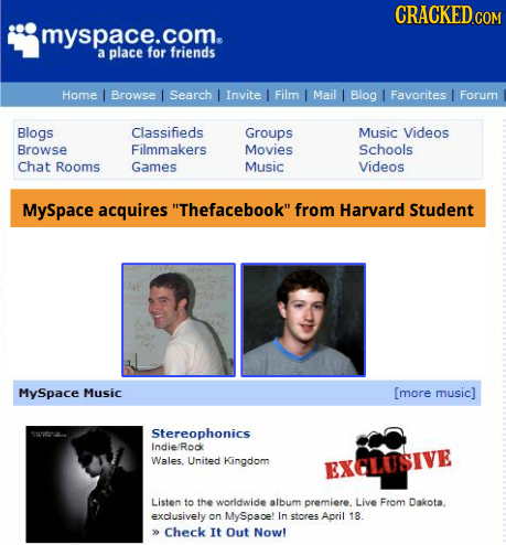 CRACKEDcO myspace.com. a place for friENDS Home Browse Search Invite Film Mail Blog I Favorites Forum Blogs Classifieds Groups Music Videos Browse Fil